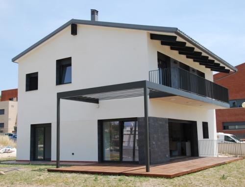 Casa unifamiliar en bloc